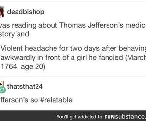 girl, headache, and tried image