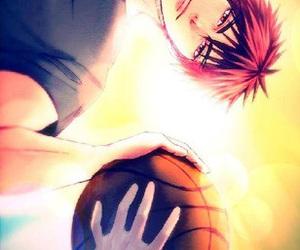 kuroko no basket, kagami taiga, and anime image