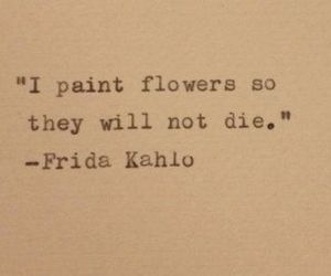 flowers, frida kahlo, and sad image