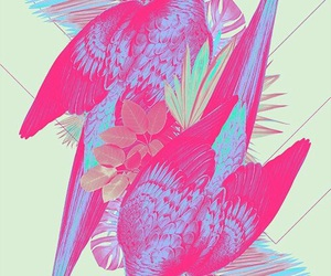 pink, art, and colors image