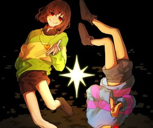 undertale, art, and chara image
