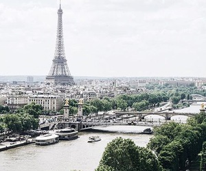 paris, france, and green image