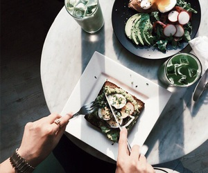 food and green image
