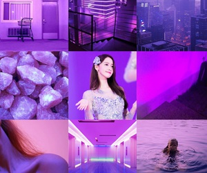 girls generation, glow, and purple image