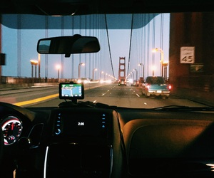 adventures, golden gate, and lights image