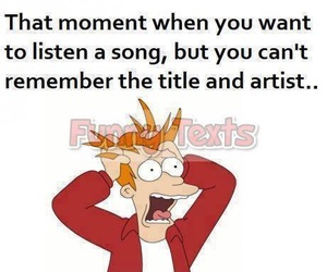 funny, song, and music image