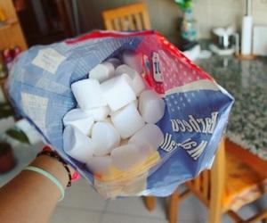 food, tumblr, and marshmallow image
