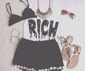 outfit, fashion, and rich image