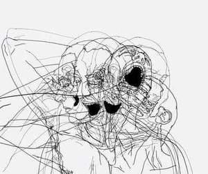alternative, art, and scream image