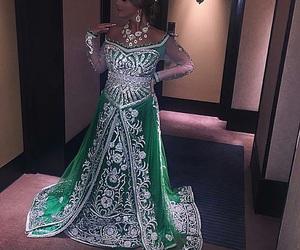 arabic, beauty, and dress image