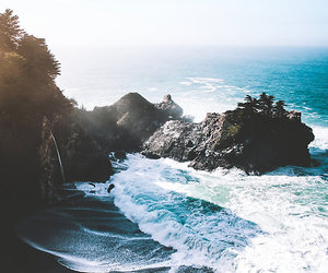 ocean, travel, and water image