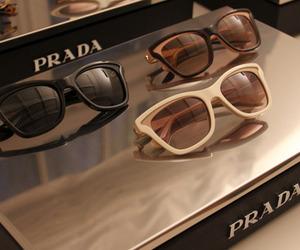 fashion, Prada, and sunglasses image