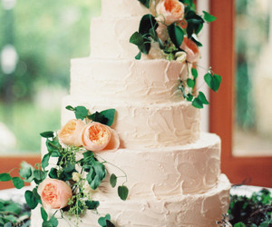 brides, cake, and cakes image