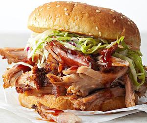 food, burger, and food porn image