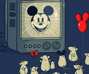 mouse, disney, and mickey mouse image