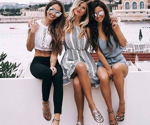 friends, fashion, and style image
