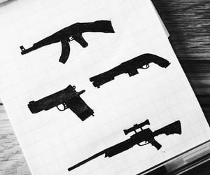 ak-47, gamer, and guns image