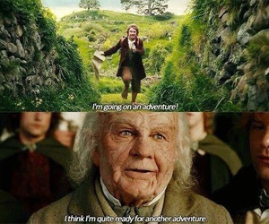 the hobbit, the lord of the rings, and bilbo baggins image