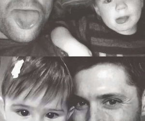 Jensen Ackles, supernatural, and baby image