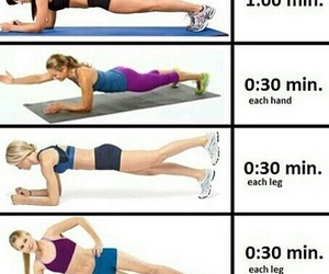 workout, fit, and fitness image