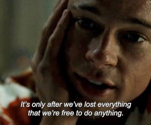 brad pitt, quotes, and fight club image