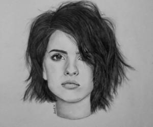 draw, malia, and teen wolf image