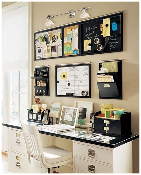 desk, office, and room image