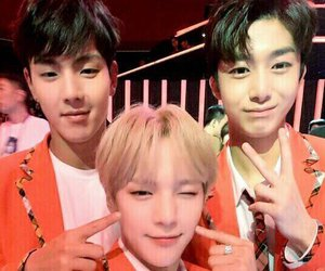 shownu, kpop, and minhyuk image