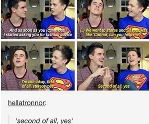funny, connor franta, and tumblr image
