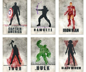 black widow, hawkeye, and Hulk image
