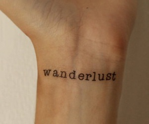 tattoo, wanderlust, and ink image