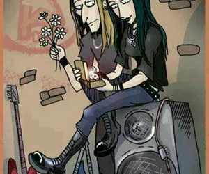 love, metalhead, and metal image