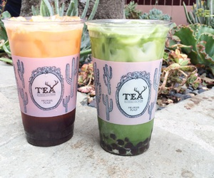 boba, los angeles, and tea image