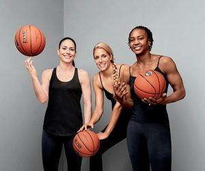 Basketball, fitness, and wnba image