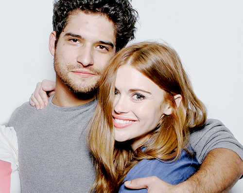 tyler posey, holland roden, and scott mccall image