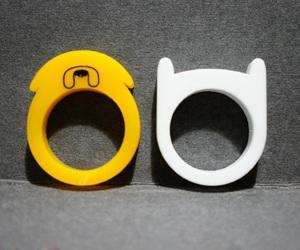 finn, JAKe, and rings image