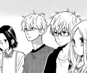 manga, hibi chouchou, and hirunaka no ryuusei image