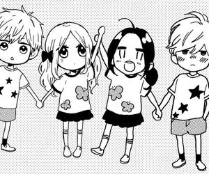 hirunaka no ryuusei, manga, and hibi chouchou image