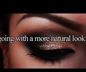 makeup and text image
