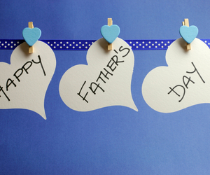hand written, message, and happy fathers day image