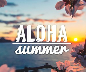 Aloha, beautiful, and june image