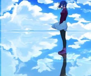 anime, ghoul, and touka kirishima image