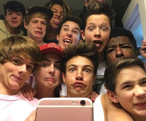 cameron dallas, magcon, and hunter rowland image