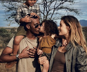 family, model, and Doutzen Kroes image