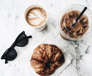 coffee, food, and sunglasses image