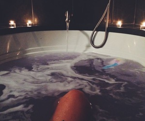 bath, relax, and nails image