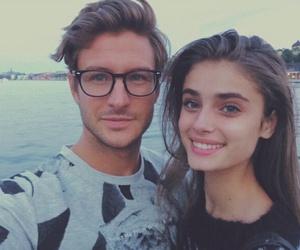 model, beautiful, and couple image