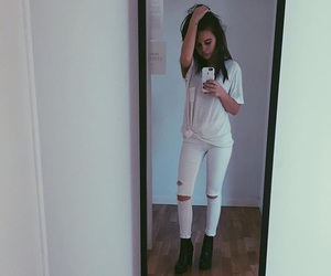 bea miller, white, and singer image