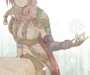 game, final fantasy xiii, and lightning farron image