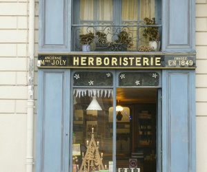 blue, france, and boutique image